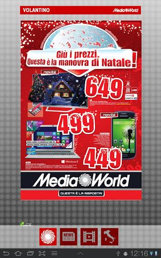 Media World per Tablet