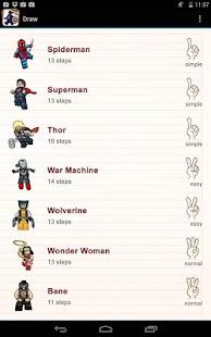 玩免費家庭片APP|下載绘制乐高超级英雄 app不用錢|硬是要APP