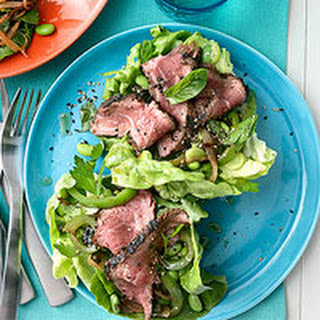 Lettuce Tacos with Sesame-Cumin Beef