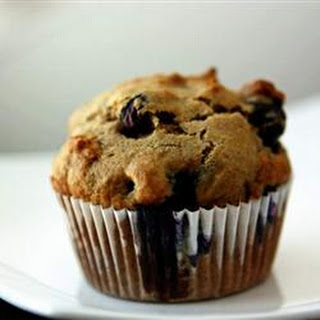 Banana Blueberry Muffins.