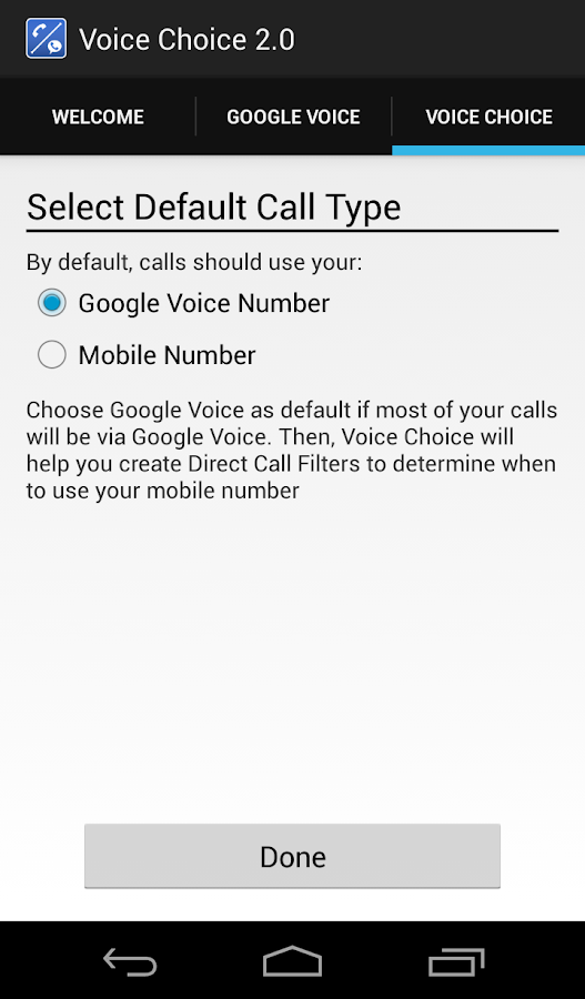 Voice Choice 2.0 - screenshot