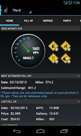 DriverDiary - Gas Mileage Screenshot 1