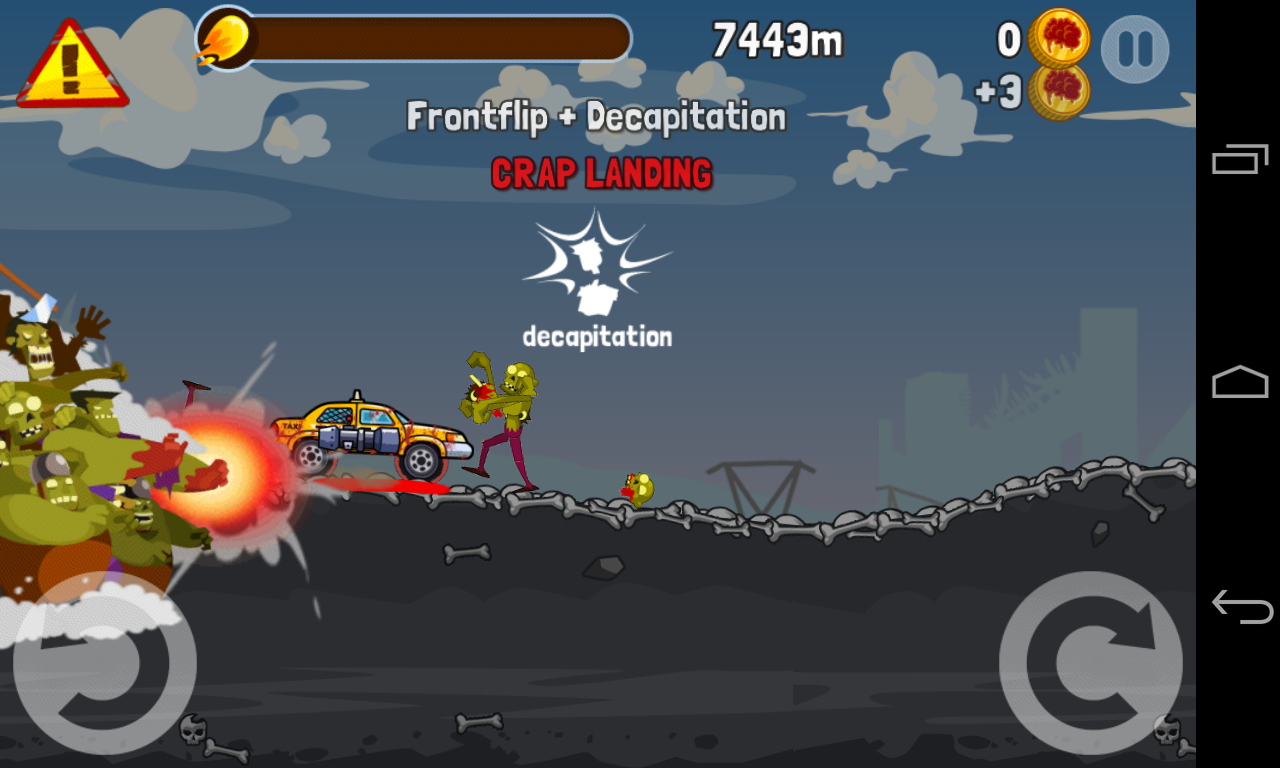Zombie Road Trip - screenshot