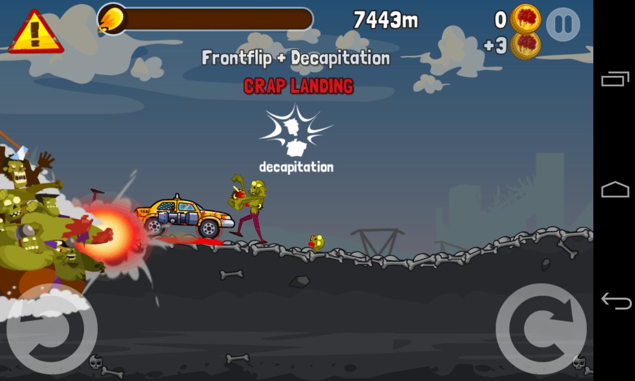 Zombie Road Trip screenshot #1