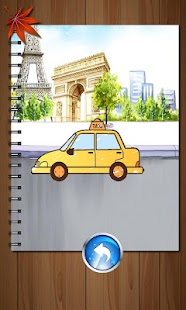 Kids Paintings Coloring - Cars Screenshot 5