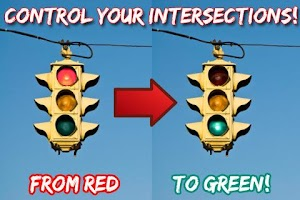 Screenshot of Traffic Light Changer Ad Free