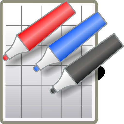 生产应用の手書きメモ HAKUBAN LOGO-HotApp4Game
