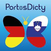 PortosDicty Deu-Slo