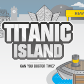 Titanic Island Game Tablet