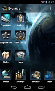 Evanova for Eve Online - screenshot thumbnail