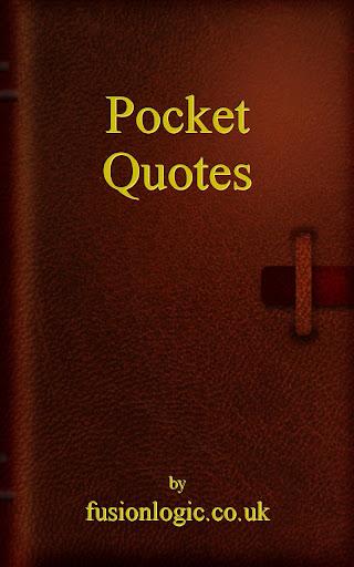 Pocket Quotes Free