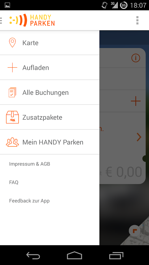 HANDY Parken - screenshot