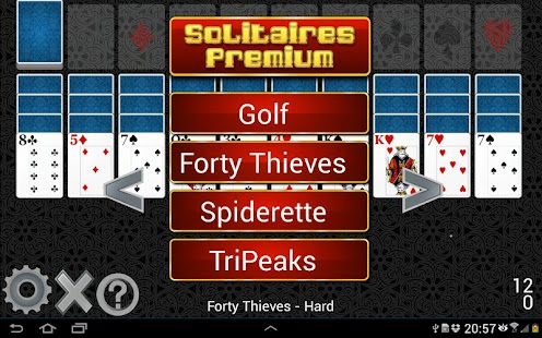 Solitaires Premium- screenshot thumbnail