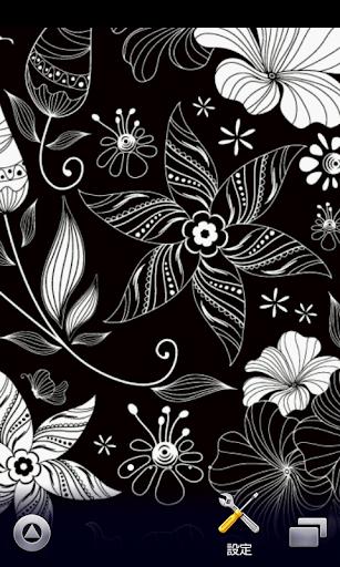 花朵图案的壁纸