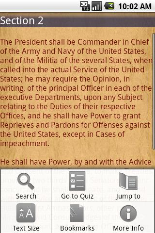US Constitution (Ad-Free) - screenshot