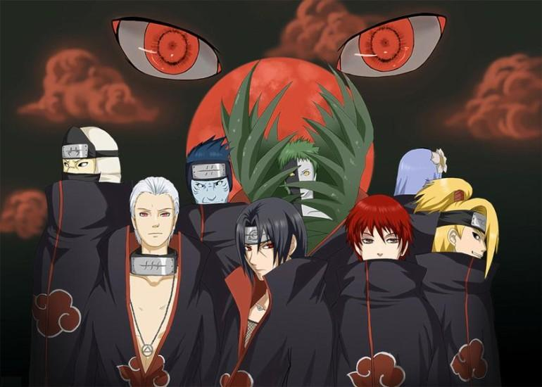 Akatsuki Eyes Live Wallpaper - screenshot