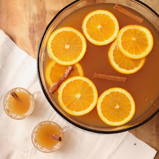 Chilled Cider Punch.