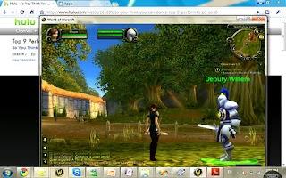 Screenshot of Splashtop Remote-SonyTablet S