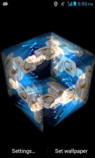 3D Mahavir Live Wallpaper