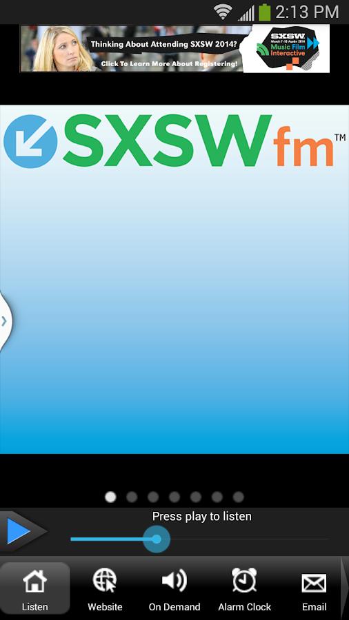SXSWfm™ - screenshot