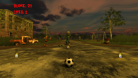 Flick Football Zombie- screenshot thumbnail