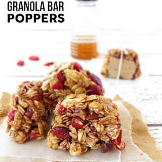 Granola Bar Poppers