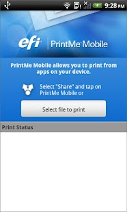 EFI PrintMe Mobile- screenshot thumbnail
