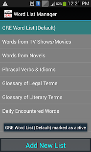 Word Note - Vocab Builder for Creative Writers/GRE- screenshot thumbnail