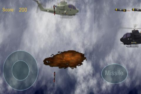 Helicopter  Shooter Game - screenshot
