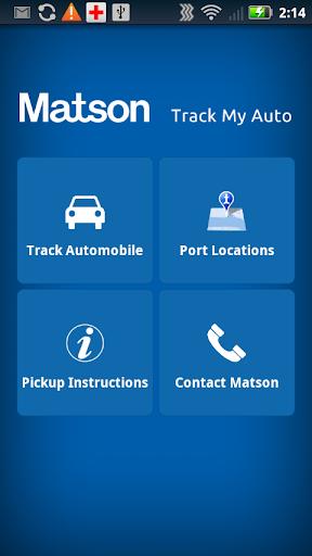 Matson - Track My Auto