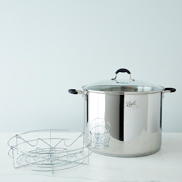 21 QT Stainless Steel Water Bath Canner & Stock Pot