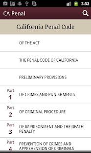 California Penal Code - CA Law