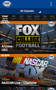 FOX Sports GO Screenshot 12