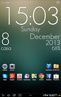 Screenshot of Super Clock Wallpaper Pro