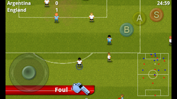 Screenshot of Striker Soccer