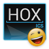 HOX ICS Blue GO SMS Theme