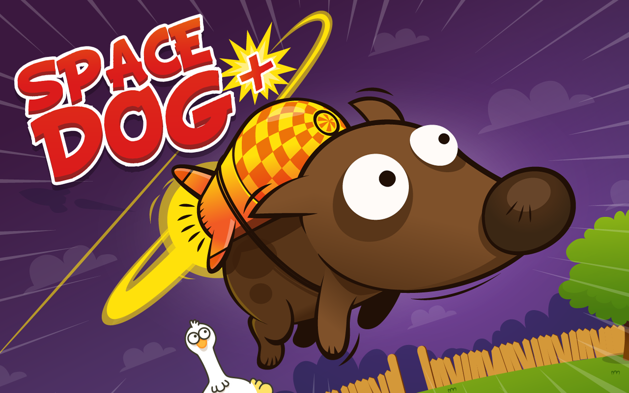 Space Dog + | Facebook Game- screenshot