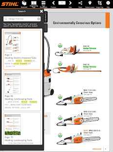 STIHL Outdoor Power Equipment - screenshot thumbnail