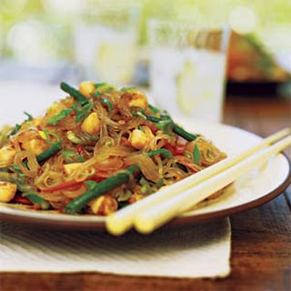 Spicy Scallop and Bean Thread Noodle Salad.