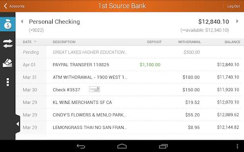 1st Source Bank Mobile - screenshot thumbnail