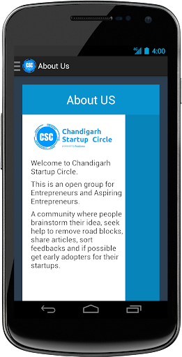 【免費商業App】Chandigarh Startup Circle-APP點子