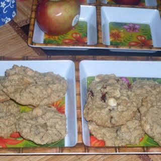 Rolled Oat Raisin Cookies.