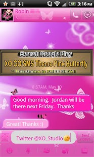 How to mod ICS Pink Neon Theme for GO SMS 1.0 unlimited apk for pc