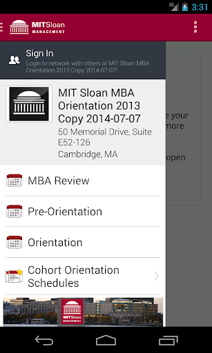 MIT Sloan Events
