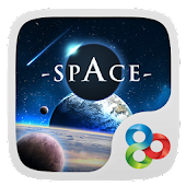 Space GO Launcher Theme