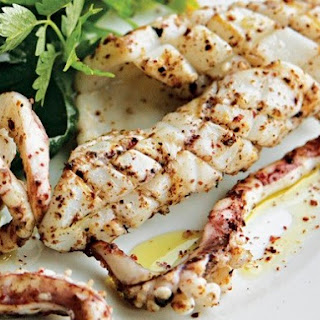 River Cottage's Seared Squid.