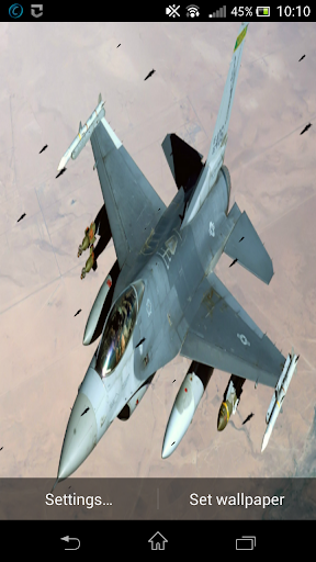 Air Missiles Live Wallpaper