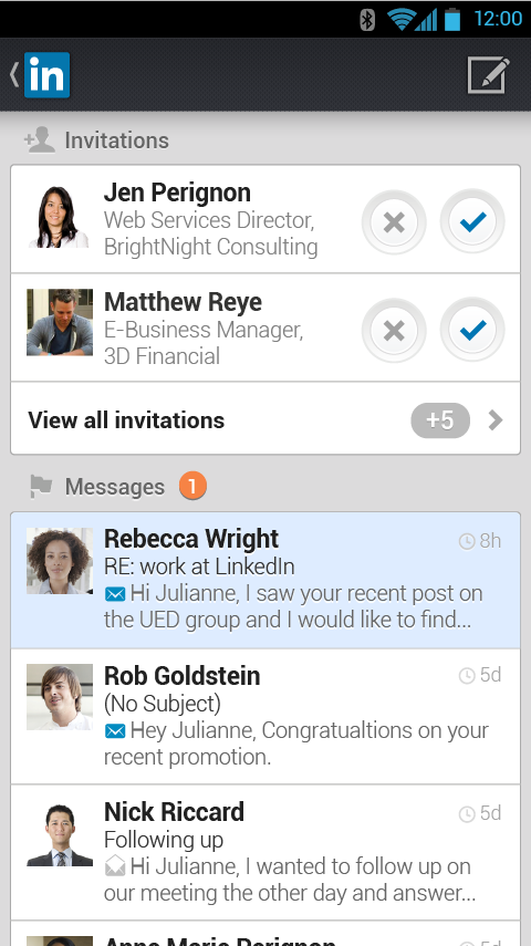 LinkedIn - screenshot