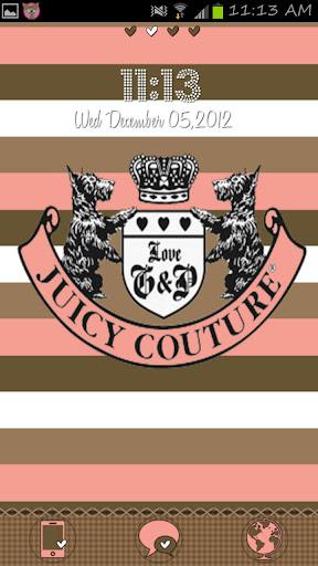 Juicy Couture Go Launcher