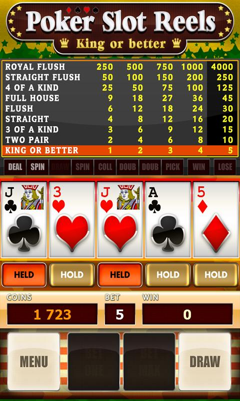 Poker Slot Reels Easy - screenshot